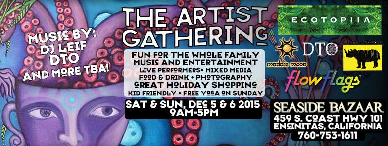 The Artist Gathering Seaside Bazaar DTO